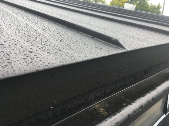 A zinc roof we recently installed